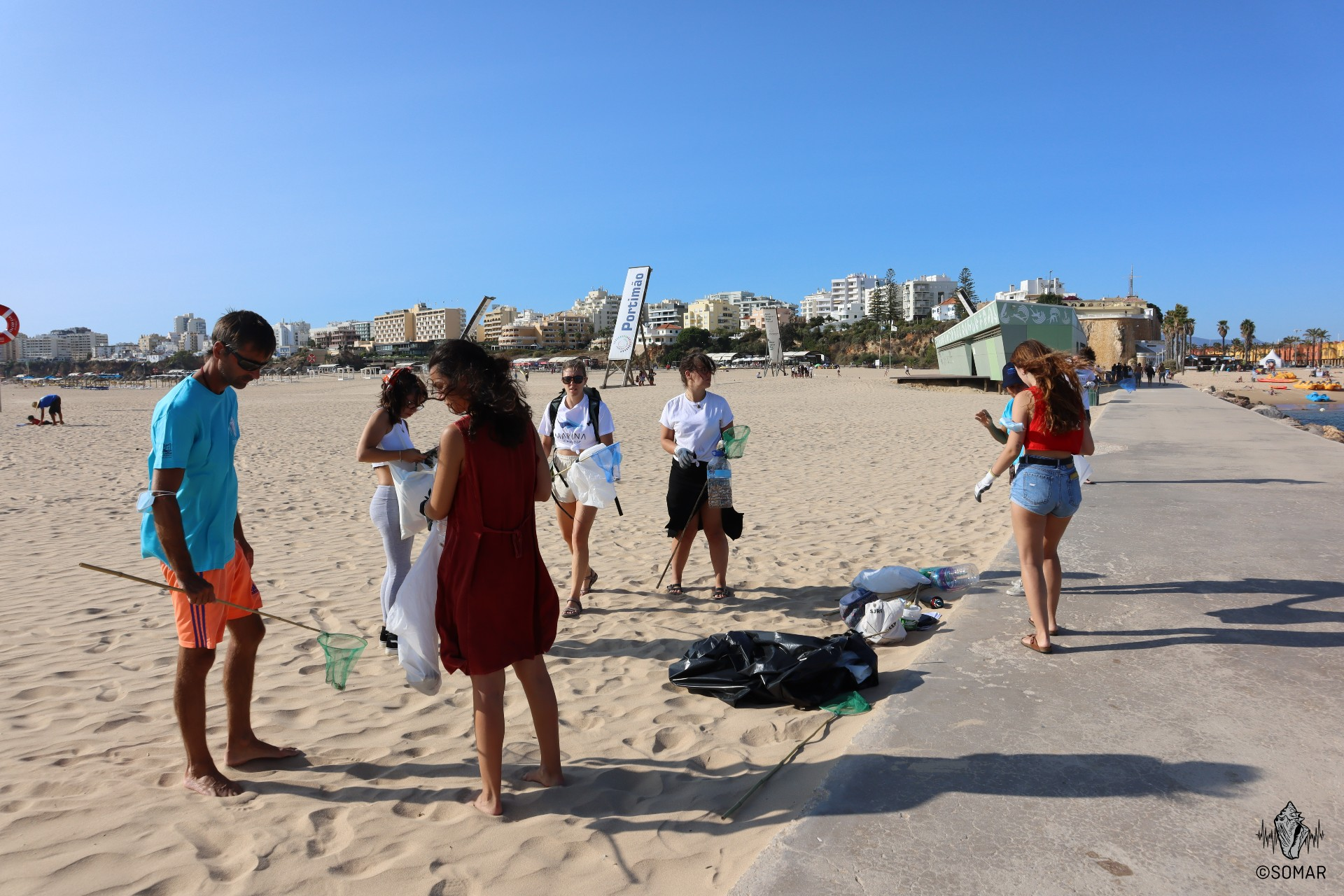 Limpeza Portimão - praia (1)