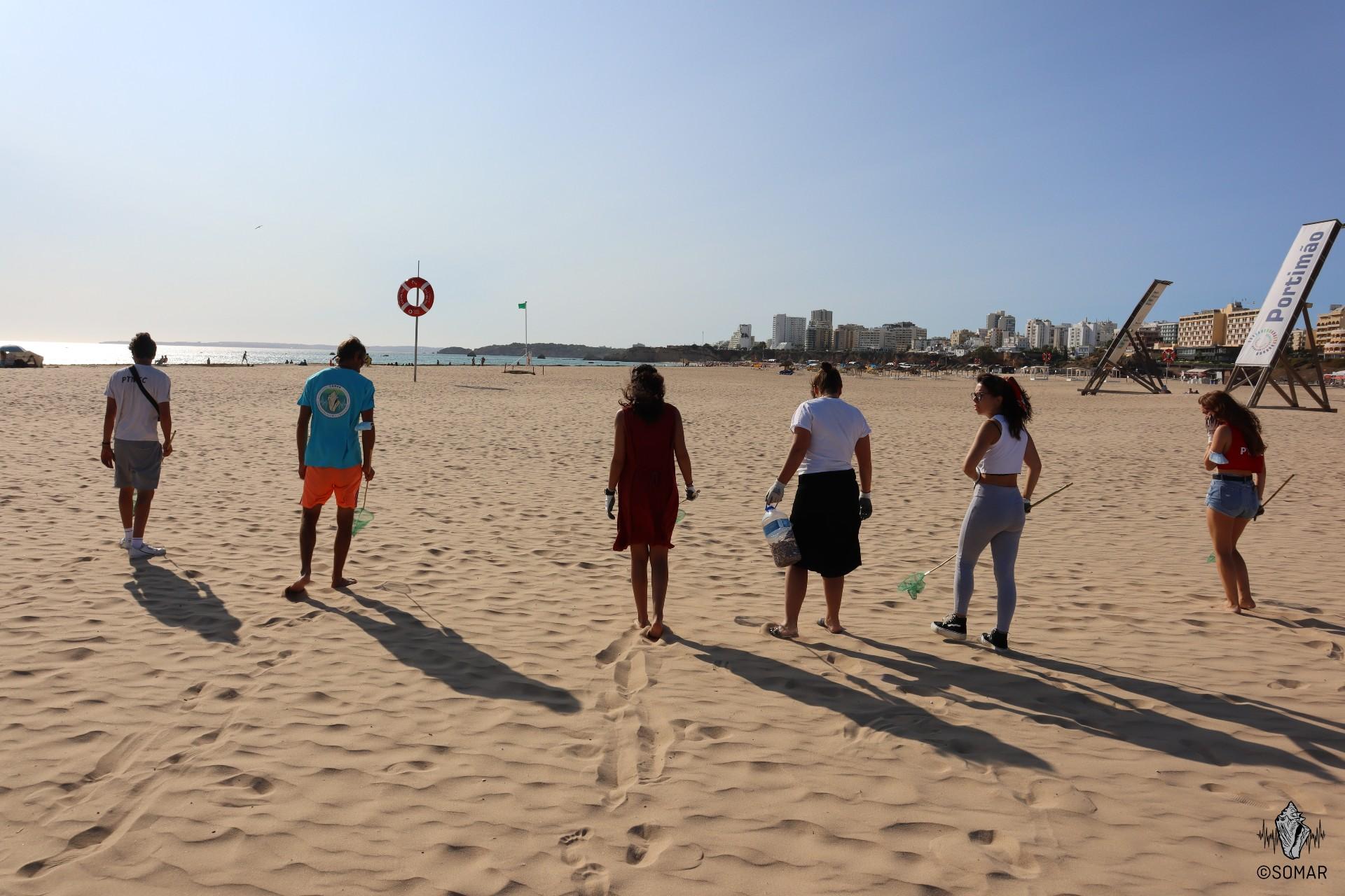 Limpeza Portimão - praia (4)