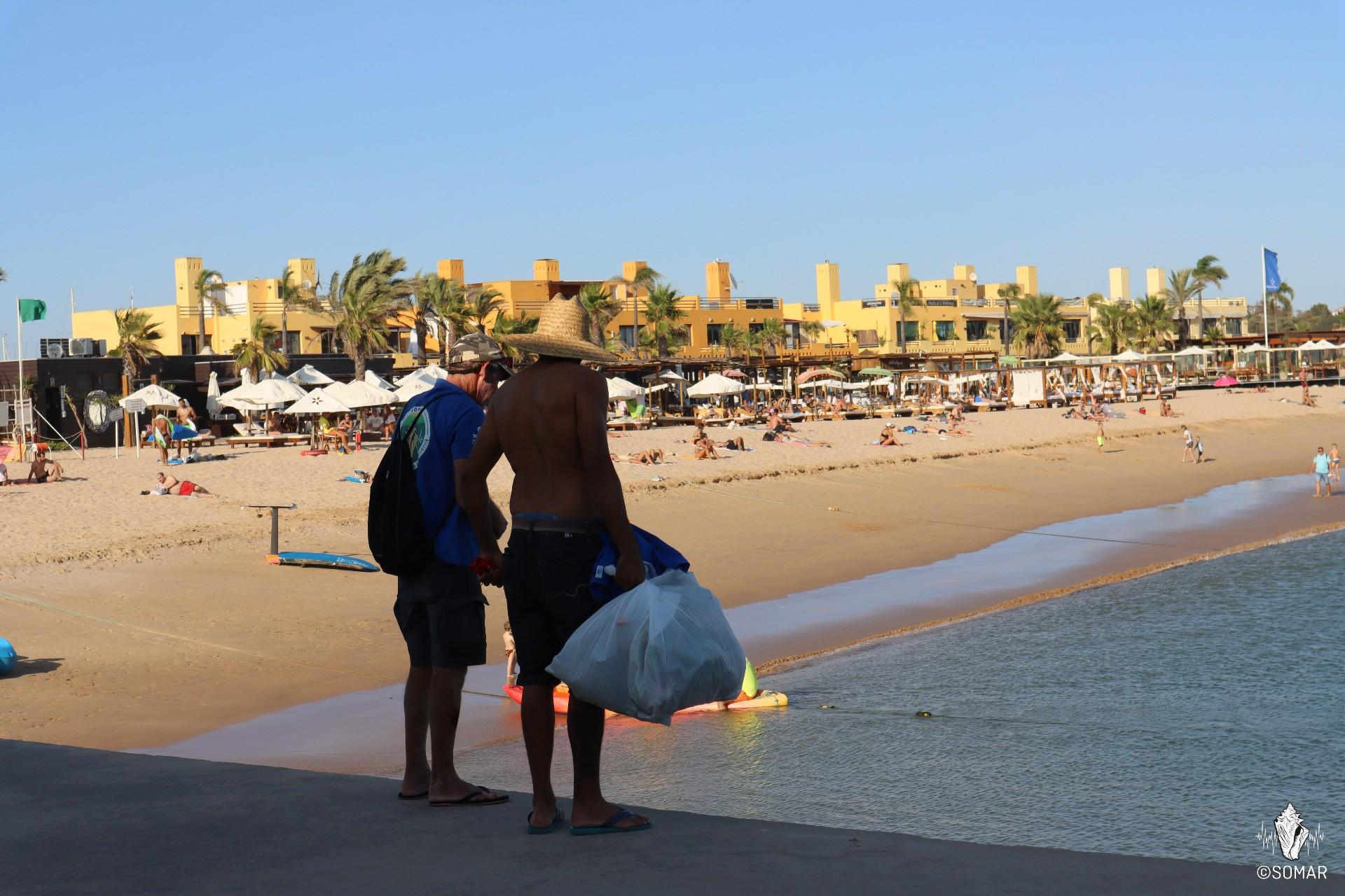 Limpeza Portimão - praia (9)