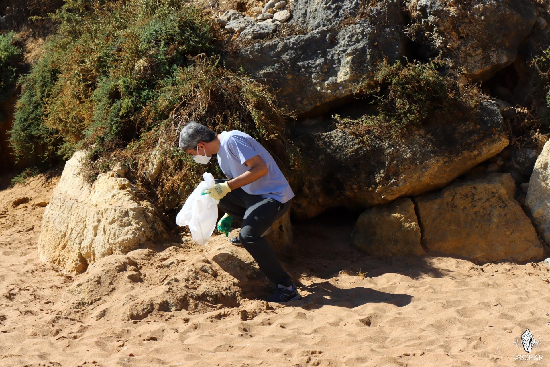 Limpeza Praia dos Estudantes
