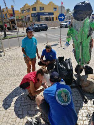 Limpeza Portimão - escultura (1)